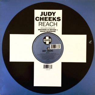 "Judy Cheeks ‎- Reach (12"") (G+/G+)"